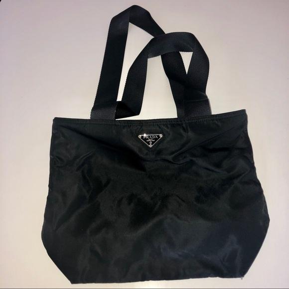 81adc7db5b3 Prada Bags   Tessuto Nero Bag   Poshmark